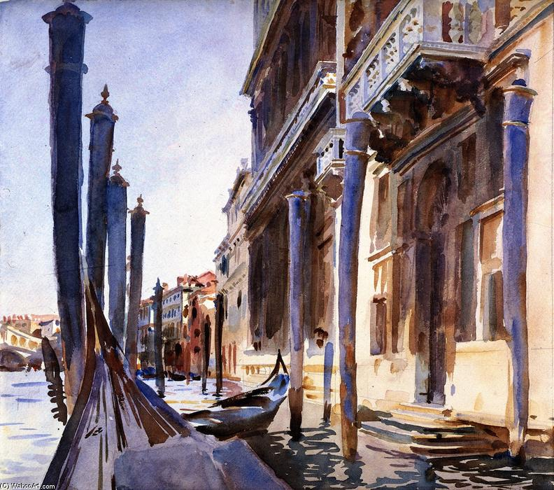 famous painting Grand Canal, Venice of John Singer Sargent