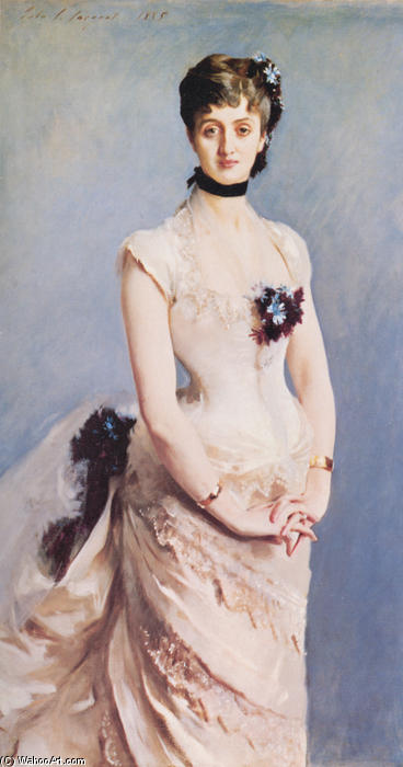 famous painting Madame Paul Poirson of John Singer Sargent