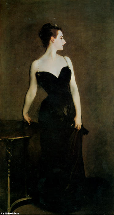 famous painting Madame X of John Singer Sargent