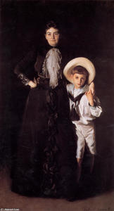 John Singer Sargent - Mrs. Edward L. Davis and Her Son Livingston