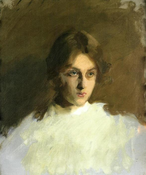 famous painting Portrait of Edith French of John Singer Sargent