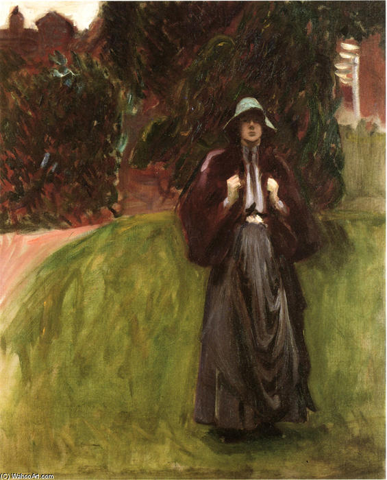 famous painting Portrait of Miss Clementina Austruther-Thompson of John Singer Sargent