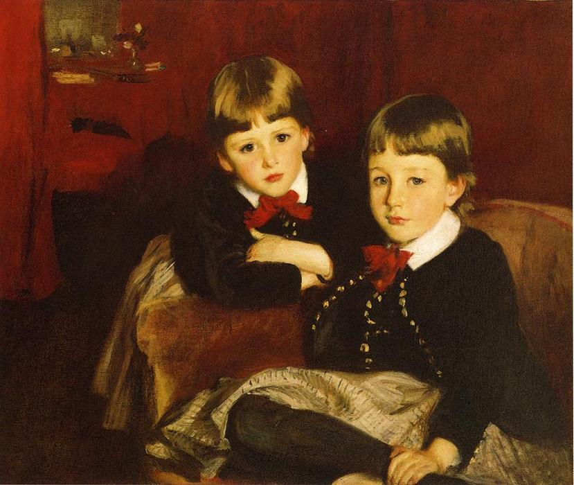 famous painting Portrait of Two Children of John Singer Sargent