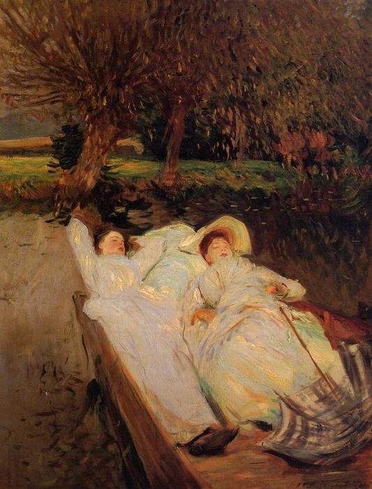 famous painting St. Martin's Summer of John Singer Sargent