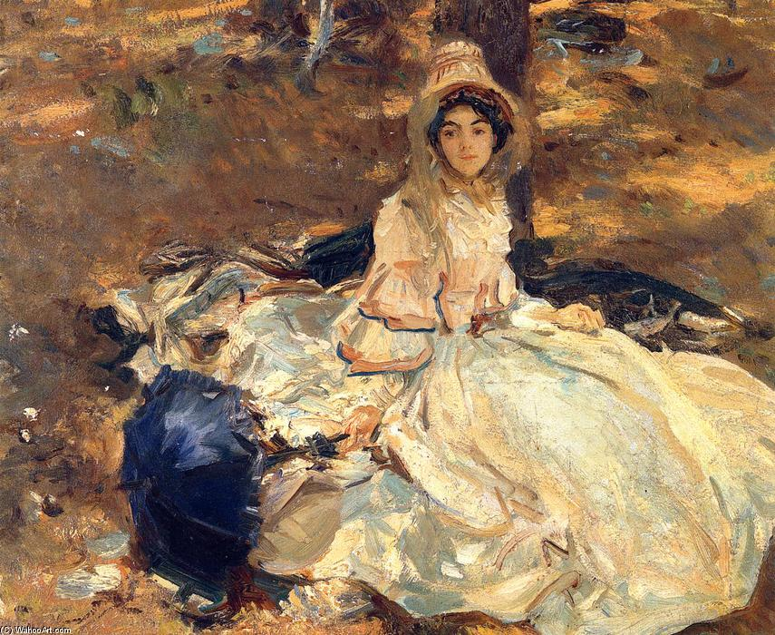 famous painting The Pink Dress of John Singer Sargent