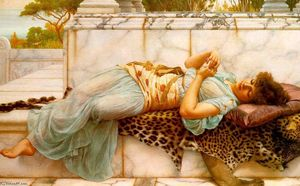 John William Godward - The Betrothed