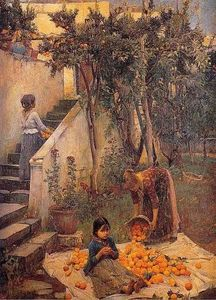 John William Waterhouse - The Orange Gatherers