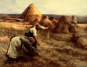 Léon Augustin L'hermitte - The Gleaners