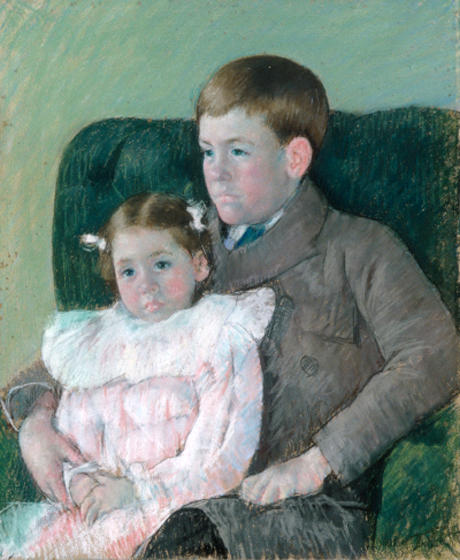 famous painting Gardner and Ellen of Mary Stevenson Cassatt