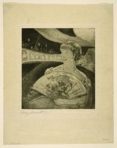Mary Stevenson Cassatt - In the Opera Box 3