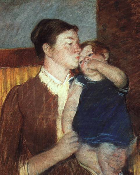 famous painting Mother and Child of Mary Stevenson Cassatt