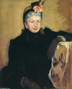 Mary Stevenson Cassatt - Portrait of an Elderly Lady