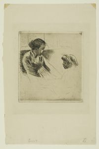 Mary Stevenson Cassatt - Susan and Child Facing each Other