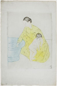 Mary Stevenson Cassatt - The Bath 1