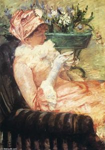 Mary Stevenson Cassatt - The cup of tea