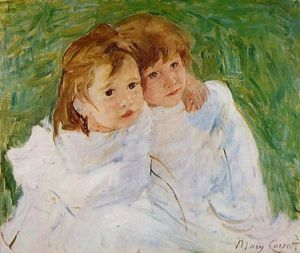Mary Stevenson Cassatt - The Sisters