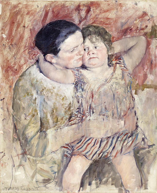famous painting Woman and Child of Mary Stevenson Cassatt