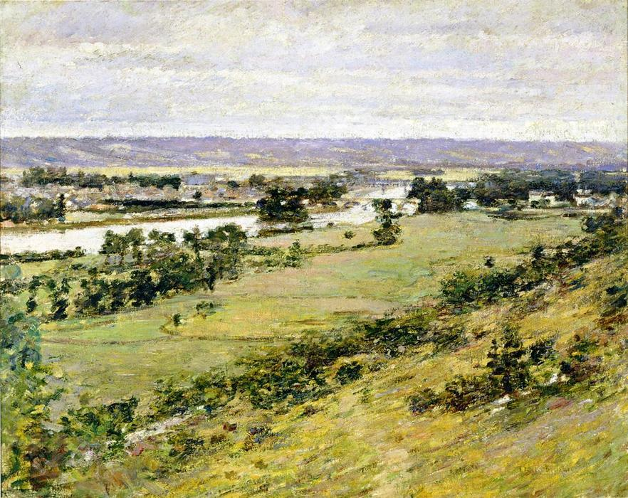 famous painting Valley of the Seine 1 of Theodore Robinson
