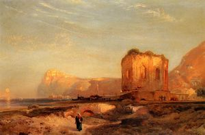 Thomas Moran - Temple of Venus, Castle of Baiae