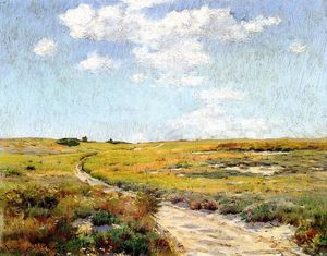 William Merritt Chase - A Sunny Afternoon, Shinnecock Hills