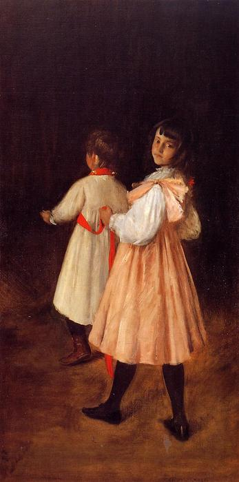 Order Museum Quality Copies Impressionism | At Play by William Merritt Chase | TopImpressionists.com