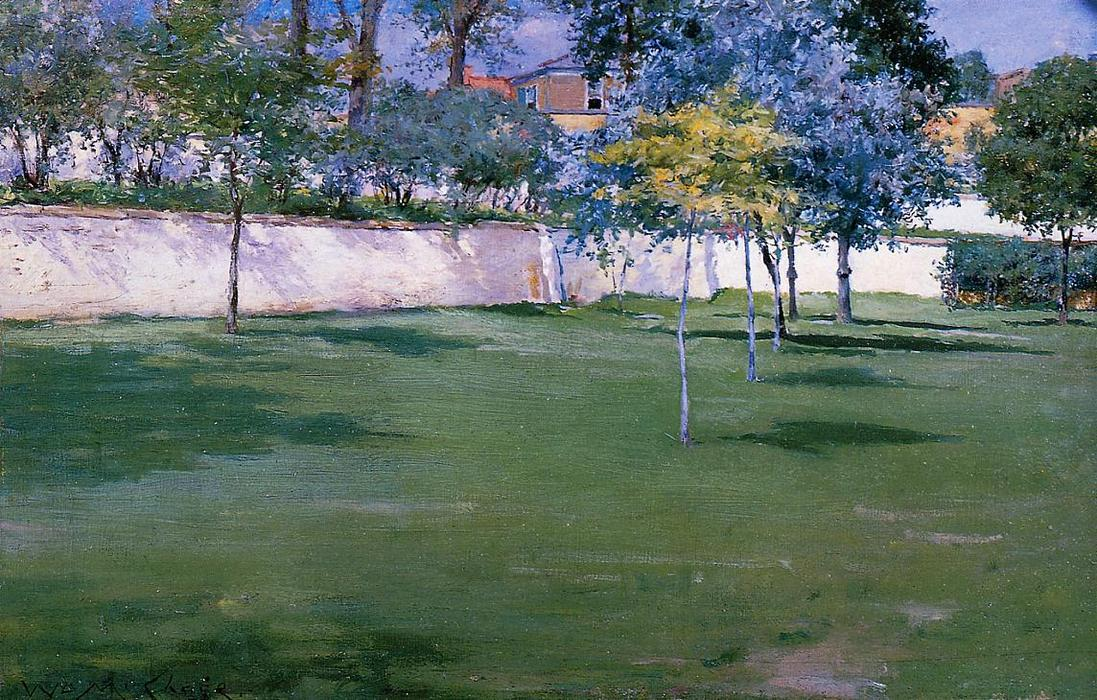 famous painting Brooklyn Navy Yard of William Merritt Chase