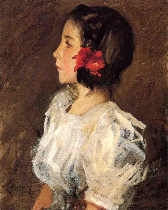 famous painting Dorothy of William Merritt Chase