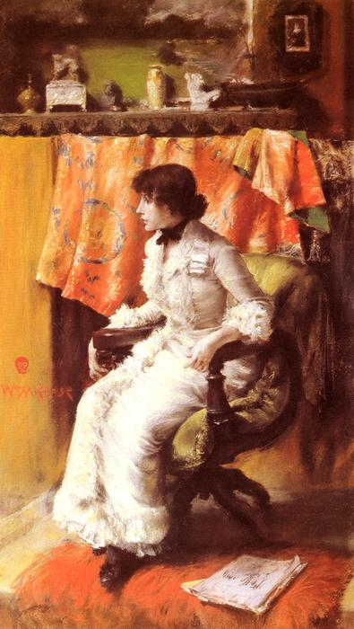 famous painting In the Studio (Virginia Gerson) of William Merritt Chase