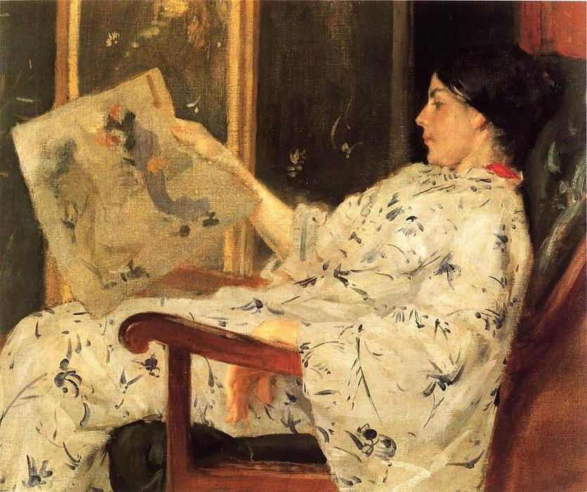 famous painting Japanese Print of William Merritt Chase