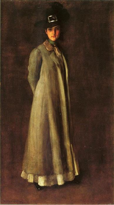 famous painting My Daughter Dieudonne (Alice Dieudonne Chase) of William Merritt Chase