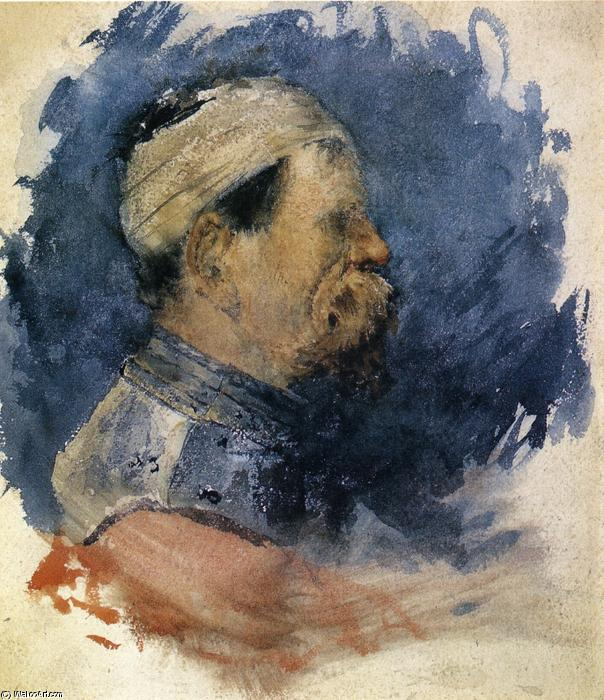 famous painting Portrait of a Man of William Merritt Chase