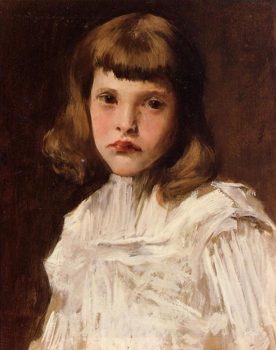 famous painting Portrait of Dorothy of William Merritt Chase