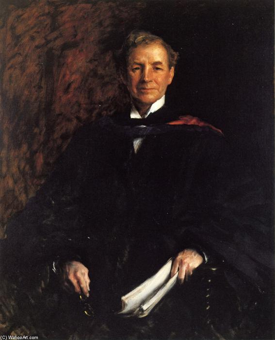 famous painting Portrait of President William Waugh Smith of William Merritt Chase