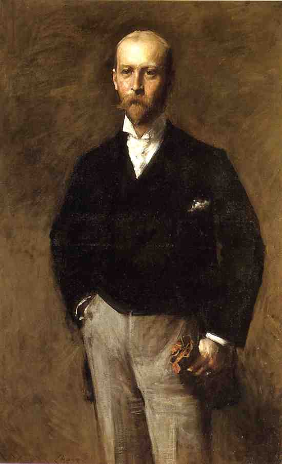 famous painting Portrait of William Charles Le Gendre of William Merritt Chase