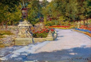 William Merritt Chase - Prospect Park 1