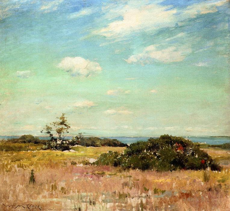 famous painting Shinnecock Hills, Long Island of William Merritt Chase