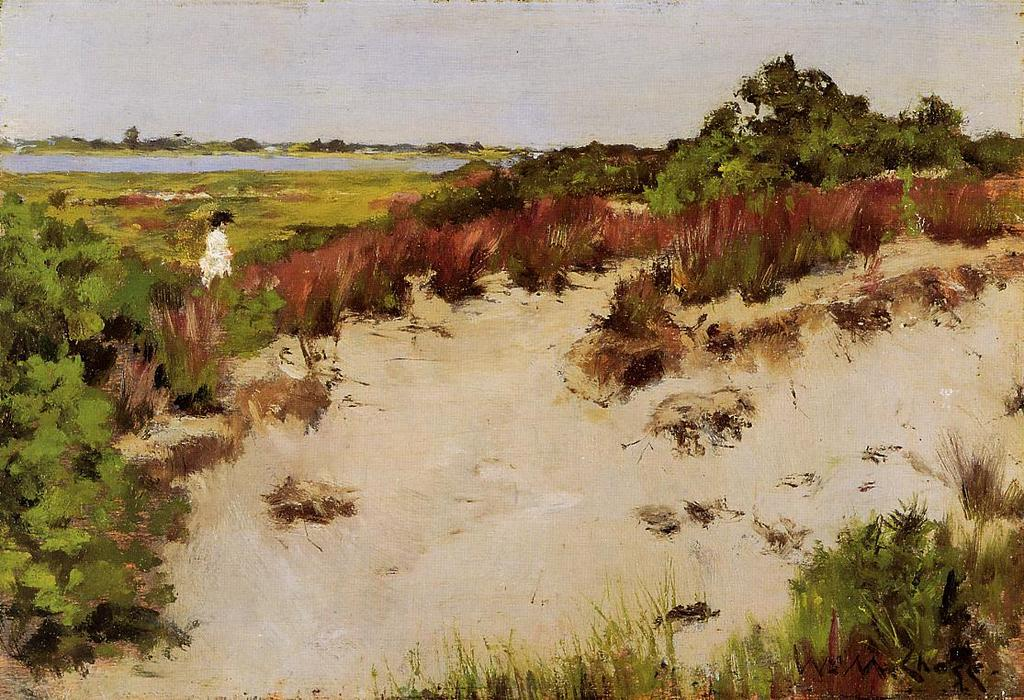 famous painting Shinnecock Landscape of William Merritt Chase