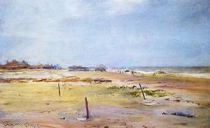 William Merritt Chase - Shore Scene