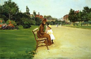 William Merritt Chase - The Park 1