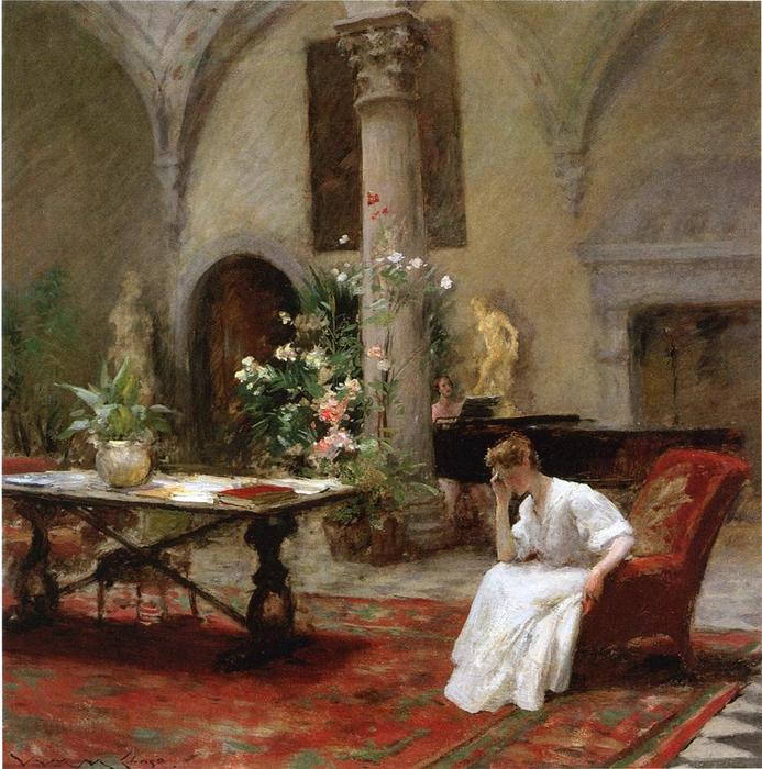 famous painting The Song of William Merritt Chase