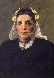 William Merritt Chase - Woman of Holland