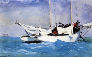 Winslow Homer - Key West, Hauling Anchor