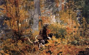Winslow Homer - On the Trail 1