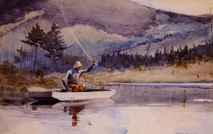 Winslow Homer - Quiet Pool on a Sunny Day