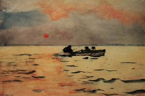 Winslow Homer - Rowing Home