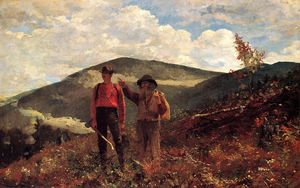Winslow Homer - The Two Guides