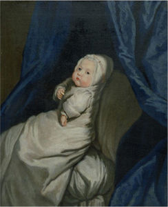 Mary Beale - Portrait of a Baby