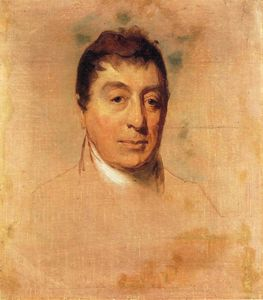 Thomas Sully - A Life Study of the Marquis de Lafayette
