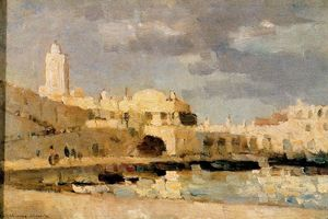 Albert-Charles Lebourg (Albert-Marie Lebourg) - The Port of Algiers