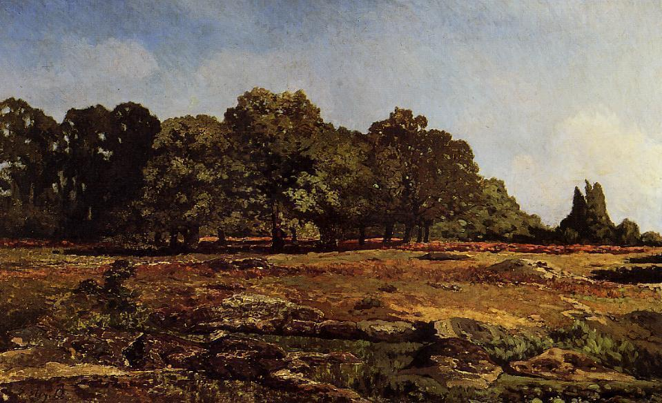 famous painting Avenue of Chestnut Trees near La Celle-Saint-Cloud 1 of Alfred Sisley